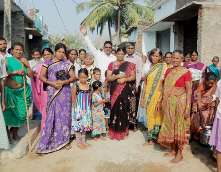 Raopalli Well Dedication
