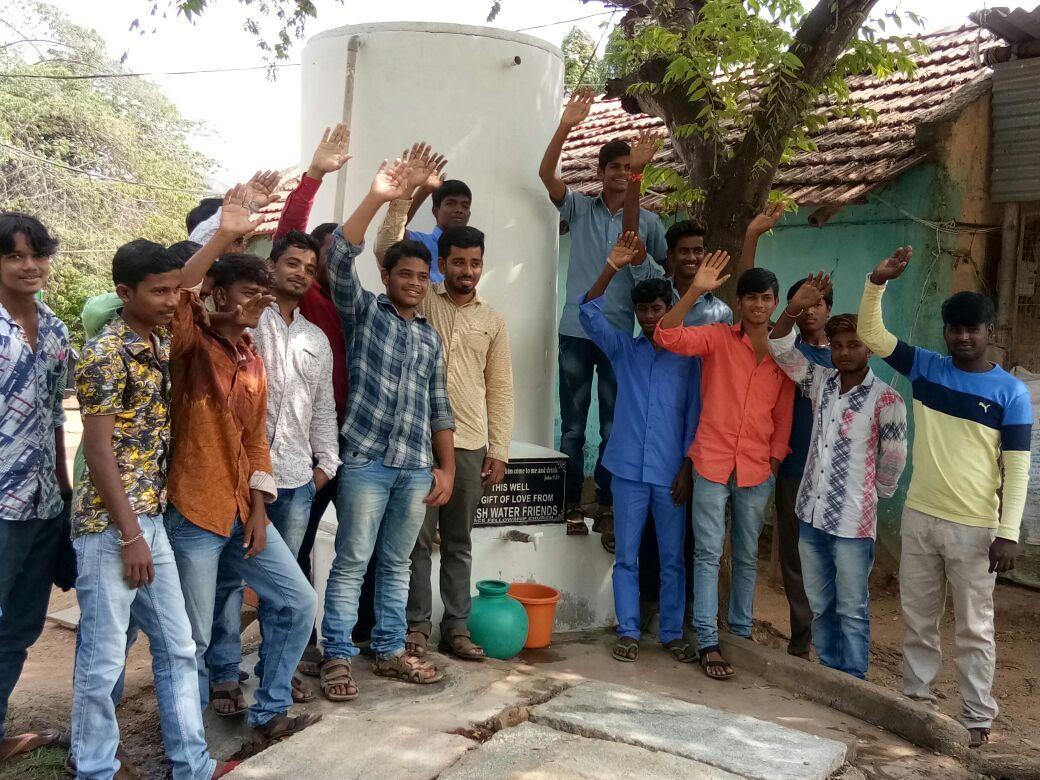 Well 32 Chitradurga dedication