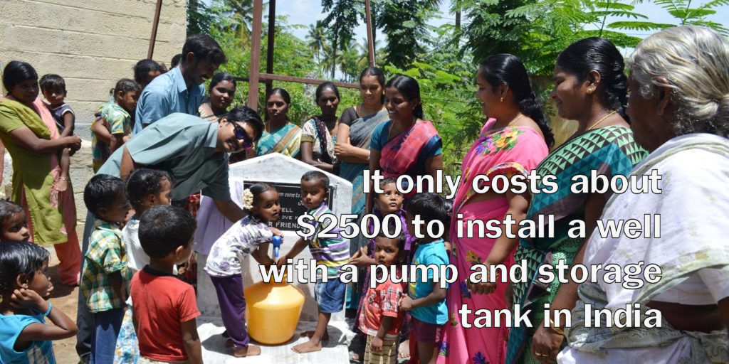 Fresh Water Friends installs deep bore wells in impoverished places